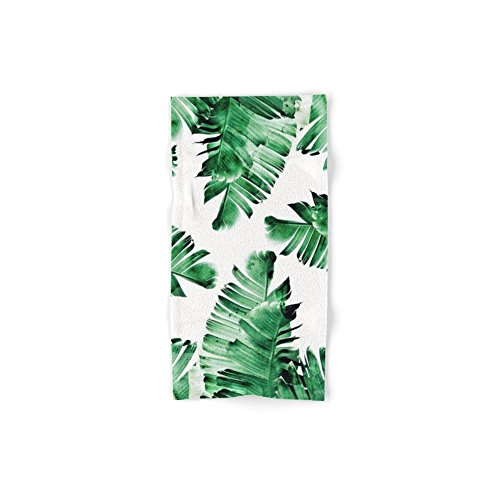 Society6 Banana Leaves Hand Towel 30