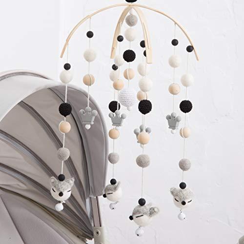 Crib Ornaments Handmade Mobile Care Accessories Newborn Shower Gift ()