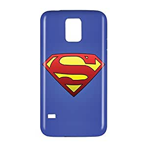 Superman Man of Steel Snap on Plastic Case Cover Compatible with Samsung Galaxy S5 GS5