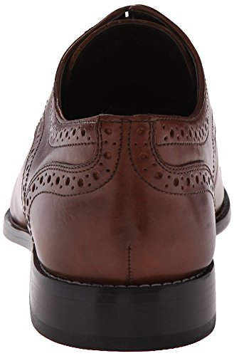 Nunn Bush Mannen Norcross Cap Teen Oxford Casual Kleding Lace Up Bruin