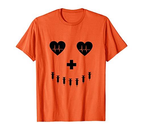 Pumpkin Costume t-shirt for student nurses, RNs and LPNs ()