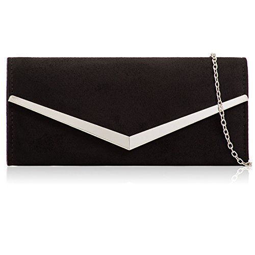 Women 120 with Prom For Over Black Suede Xardi Leather Baguette Clutch Chain Bags Evening Ladies and Bar Detachable Parties Metal cm Envelope London Flap Faux Golden qzp6zaUZ