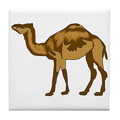 CafePress Camel Tile Coaster, Drink Coaster, Small Trivet