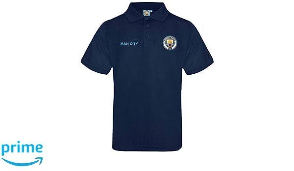 Polo Oficial del Manchester City Crest (Tallas de Adultos S a 3XL ...