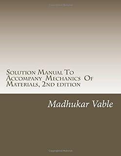 Solution manual to accompany intermediate mechanics of materials dr solution manual to accompany mechanics of materials 2nd edition fandeluxe Gallery