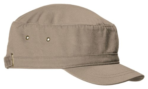 Big Bill Khaki (Big Accessories Bagedge Short Bill Cadet Cap, KHAKI, One Size)