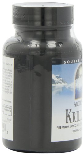 Arctic Pure Krill 500 30 by Source Naturals