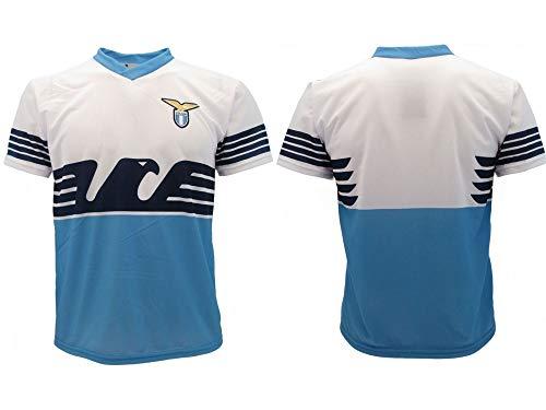 Camiseta del Lazio Neutra 2019 oficial temporada 2018 2019 réplica autorizada sin nombre sin número SS Aquila Home