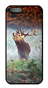 iPhone 5s Cases & Covers - Elk Custom PC Soft Case Cover Protector for iPhone 5s - Black