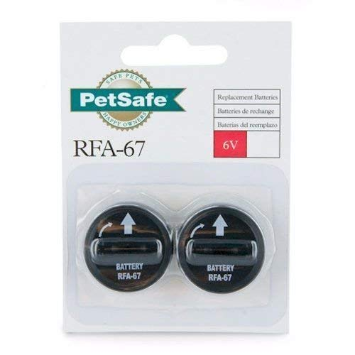 PetSafe Replacement Batteries 6 Volt (RFA-67D-11) Package of 2 ()