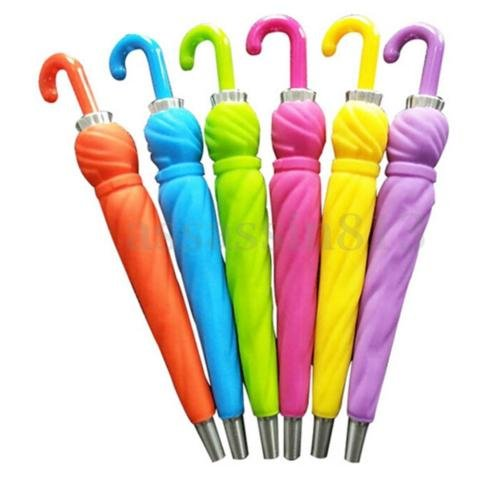 MAZIMARK--Novelty Creative Umbrella Shape Ball Point Pen Ballpoint Stationery Student - Gift Cards Law California