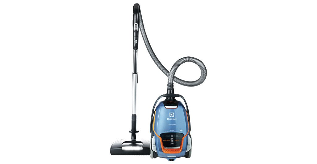 Electrolux Ultra One Deluxe Canister Vacuum, Blue/Orange by Electrolux