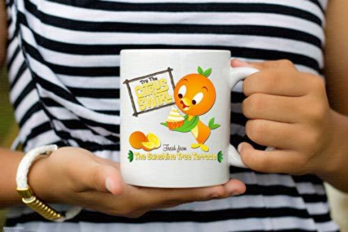 (Disney Orange Bird Coffee Mug - Citrus Swirl - Florida Bird - Disney Mug- Coffee Mug, Tea Mug, Cute Mug - Gift, cute gift, Souvenir, 11oz, 15oz)