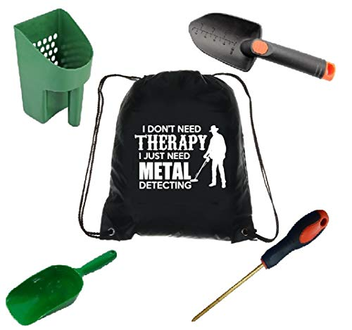 Tucson Tools Metal Detecting Accessory Kit Sand Sifter, Trowel, I Don