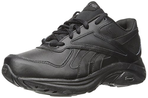 Reebok Women's Ultra V Dmx Max Walking Shoe, Black/Flat Grey, 8 M US (Womens Tennis Shoes Reeboks)