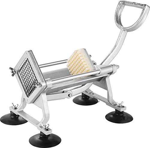 Deer Commercial Grade French Fry Cutter with Suction Feet,Includes 1/4
