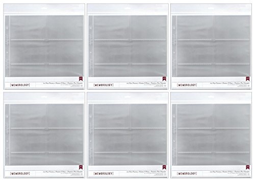 - American Crafts 4x6 Photo Protector Sheets (6)