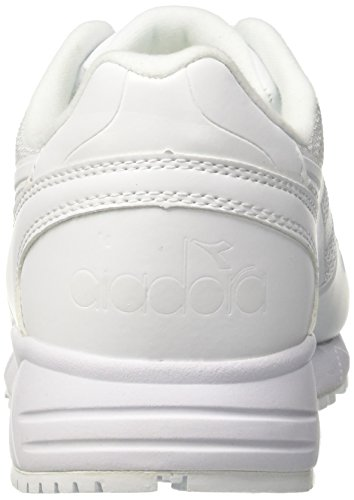 Diadora Men's N902 mm Gymnastics Shoes, Black Off White (Bianco/Bianco/Bianco)