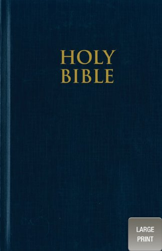 Zondervan'sNIV Church Bible, Large Print [Large Print, Deluxe Edition] [Hardcover]2011 ebook