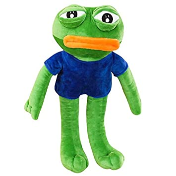 2019 Sad Frog Pepe Cushion Soft Double Side Hold Pillow Birthday Xmas Gifts Doll
