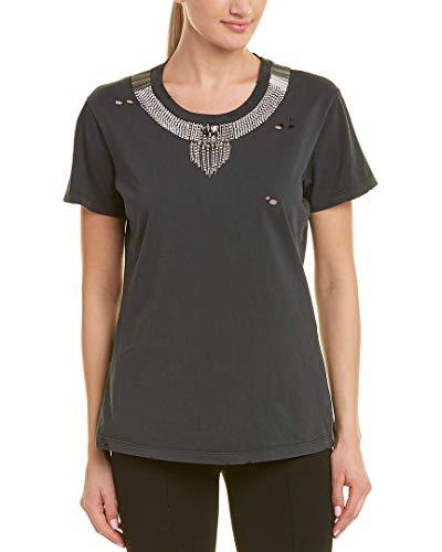 y47v Negro 1w113u Mujer Pinko Camiseta 5qU1w4f