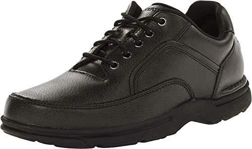 Rockport Men's Eureka Walking Shoe, Black, 8.5 D(M) US