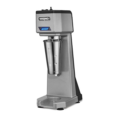 Waring Commercial WDM120T Single Head Drink Mixer with Timer, Silver by Waring Commercial