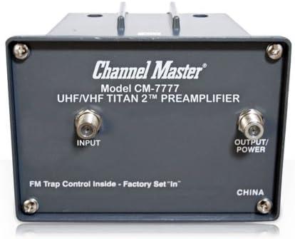 Canal Maestro CM-7777 Titan 2 Antena preamplificador Estilo ...