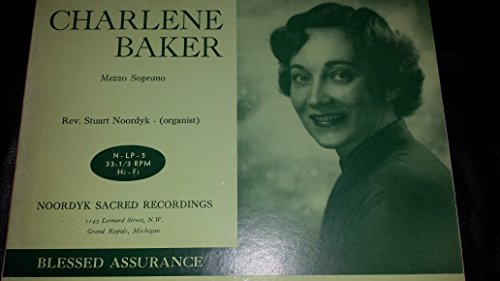 Noordyk Sacred Recordings [Red Colored Vinyl] Charlene Baker, Mezzo Sporano [Christian Vocal Praise from Grand Rapids, - Malls Grand Rapids Mi