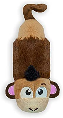 Petstages Product Name Just for Fun No Stuffing Plush Lil Squeak Monkey Dog Toy for Small Dogs