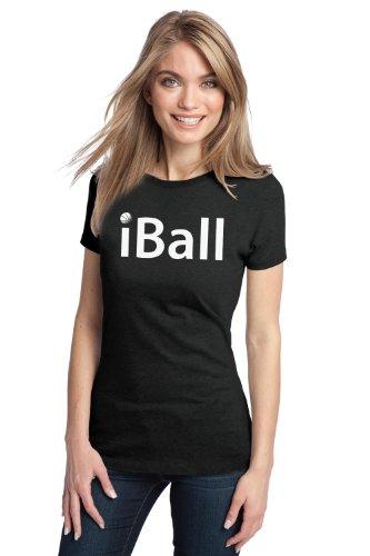 iBALL Ladies' T-shirt / Basketball Player, Baller Hoops Tee Shirt