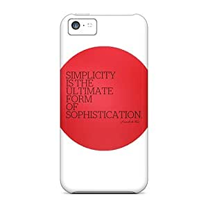 BretPrice GeF4104qmdn Case Cover Iphone 5c Protective Case Simplicity Ultimate Sophistication