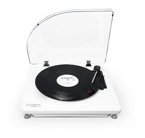 ION Audio Pure LP - Tocadiscos (2.0, DC, 12V, Rojo, USB): Amazon ...