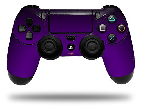Vinyl Skin Wrap for Sony PS4 Dualshock Controller Smooth Fades Purple Black (CONTROLLER NOT INCLUDED)