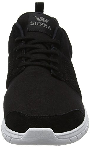Supra Scissor, Sneaker Uomo Black (Black-charcoal)