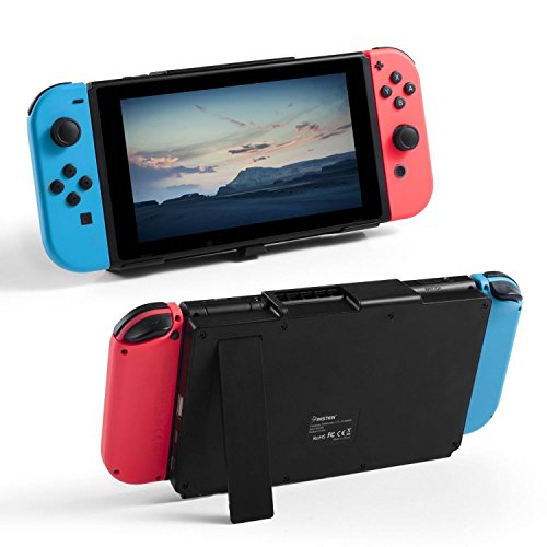 - Insten For Nintendo Switch Battery Charger Case , 10000mAh Gaming Powerbank Portable Extended Battery Pack Charging Case Cover with Kickstand For Nintendo Switch Console Charge and Play