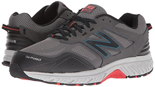 New Balance Men's 510v4 Cushioning Trail Running Shoe, Magnet, 7 D US by New Balance (Image #5)