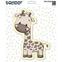 Squiddy Cute Giraffe - Vinyl Sticker Decal