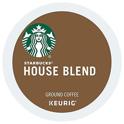 Starbucks House Blend Medium Roast Coffee Keurig K-Cups, 96 Count