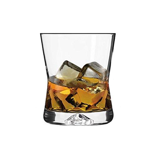 6Bicchieri da Whisky–Forma X–290ml–Sables & Reflets