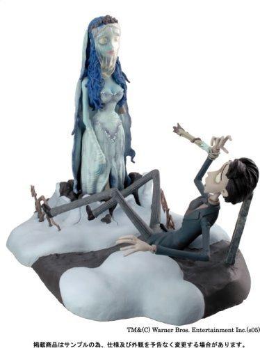 Tim Burton's Corpse Bride Diorama Figurine Victor & Bride (Emily) Figure Statue by Jun Planning (The Corpse Bride Emily)