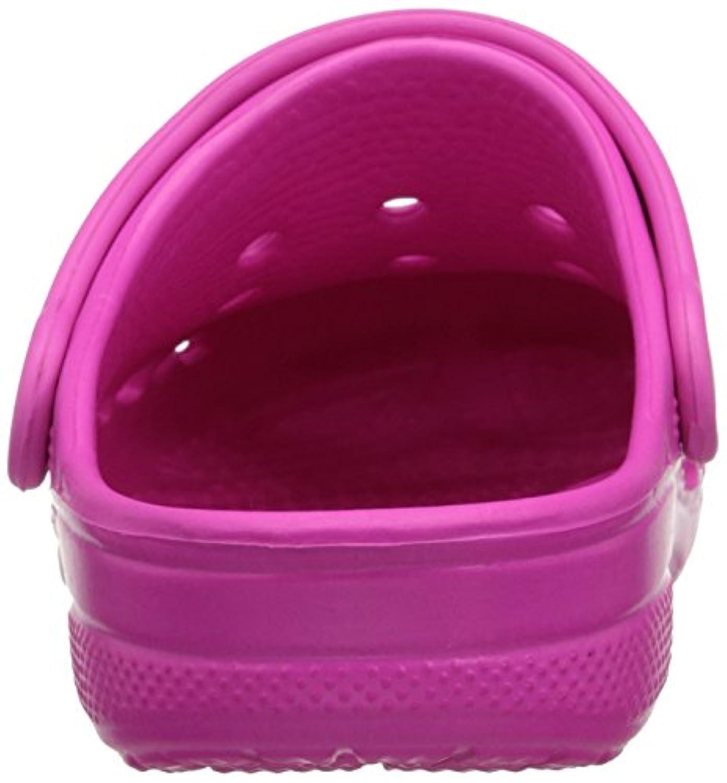 Crocs Baya, Unisex Kids' Clogs - Pink (Neon Magenta), 1 UK (32-33 EU)