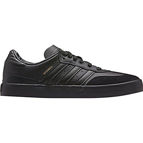 Adidas Busenitz Vulc Samba Edition Chaussures De Skate Homme Noir / Noir / Uni Gris
