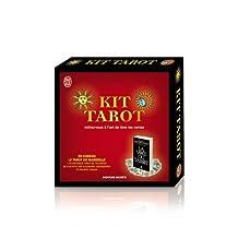KIT TAROT : UN LIVRE ET UN JEU COMPLET DE TAROT DE MARSEILLE DE 78 CARTES