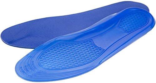 Impact Gel-Einlagen | Stoßabsorbierende Gel-Konstruktion | Polsterung für Ferse & Ballen des Fußes | Schmaler Sitz, passt in die meisten Schuhe. Without Additions