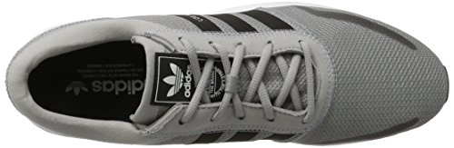 adidas Unisex-Erwachsene Los Angeles Sneaker Grau (Grey/Blk)
