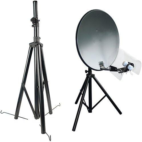 3-Legged trípode para Antena parabólica – Sky freesat- Soporte Soporte – Caravana Camping