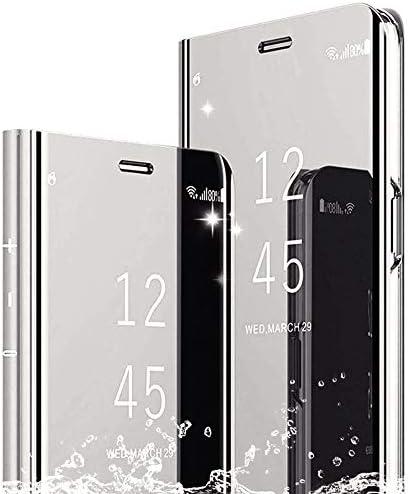 DAYNEW Funda para Sony Xperia XZ3,Sony Xperia XZ3 Funda Desmontable Ultra-Delgado,360 °Protection Inteligente Espejo Brillante tirón del Caso Duro para Sony Xperia XZ3-Silver: Amazon.es: Electrónica