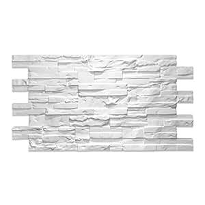 Decoresin Falso Panel Imitación Piedra Reconstituida en Poliestireno Expandido. Plancha Decorativa ideal para el refuerzo