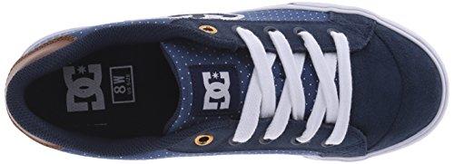 Zapatillas Dc Mujeres Chelsea Se Skate Azul / Marrón / Blanco